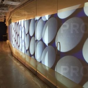 Reflection Film, Display Wall